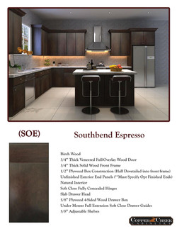 Southbend Espresso page