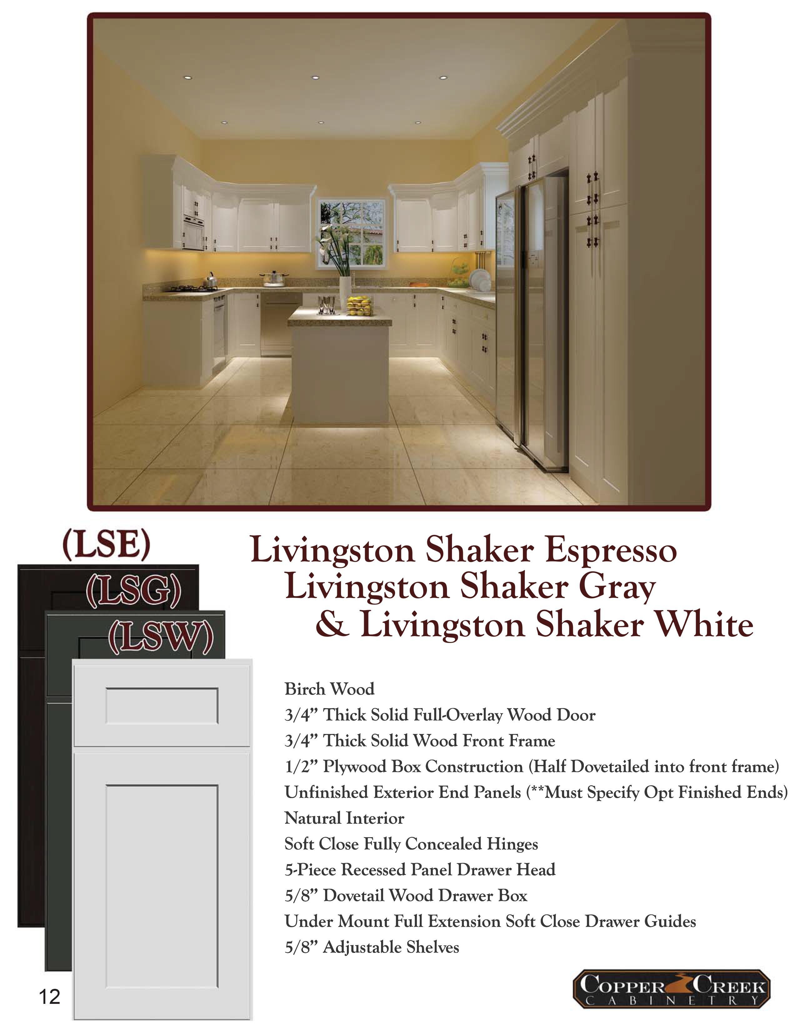 Livingstone Shaker page