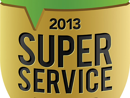 Winner of the 2013 Angie's List Super Service Award