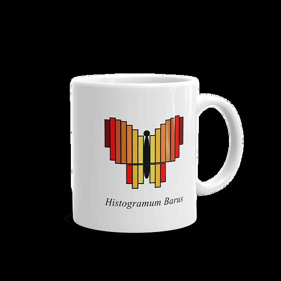Datavizbutterfly - Histogramum Barus - Mug