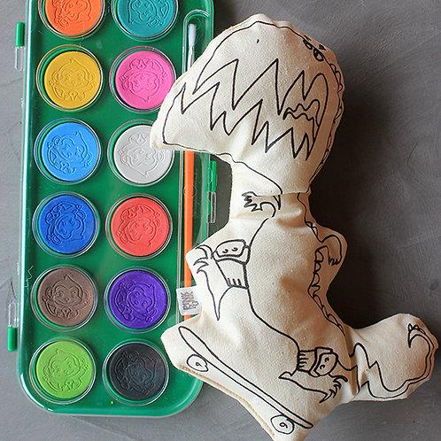 Para pintar - Dinos