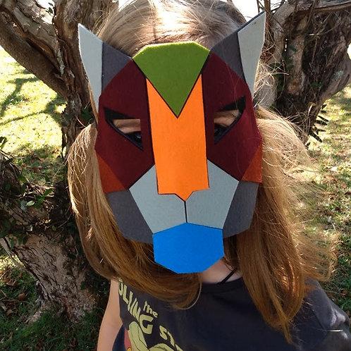 Máscaras Tangram
