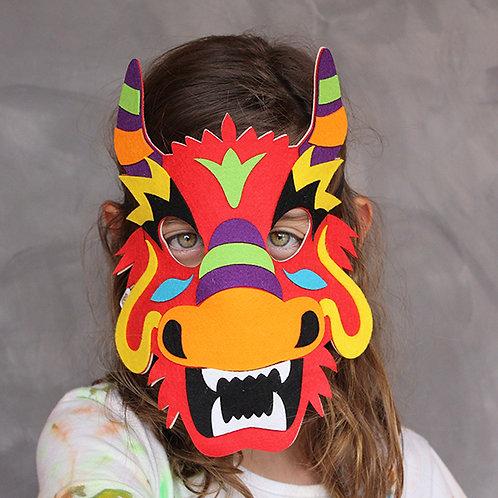 Máscaras Dragão Chinês