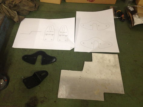 XS750 Speedo and headlight brackets - for real this time