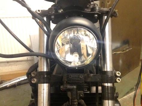XS750 Speedo and headlight brackets
