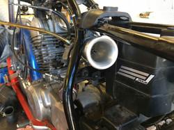 SR250 Tuned Intake Testing