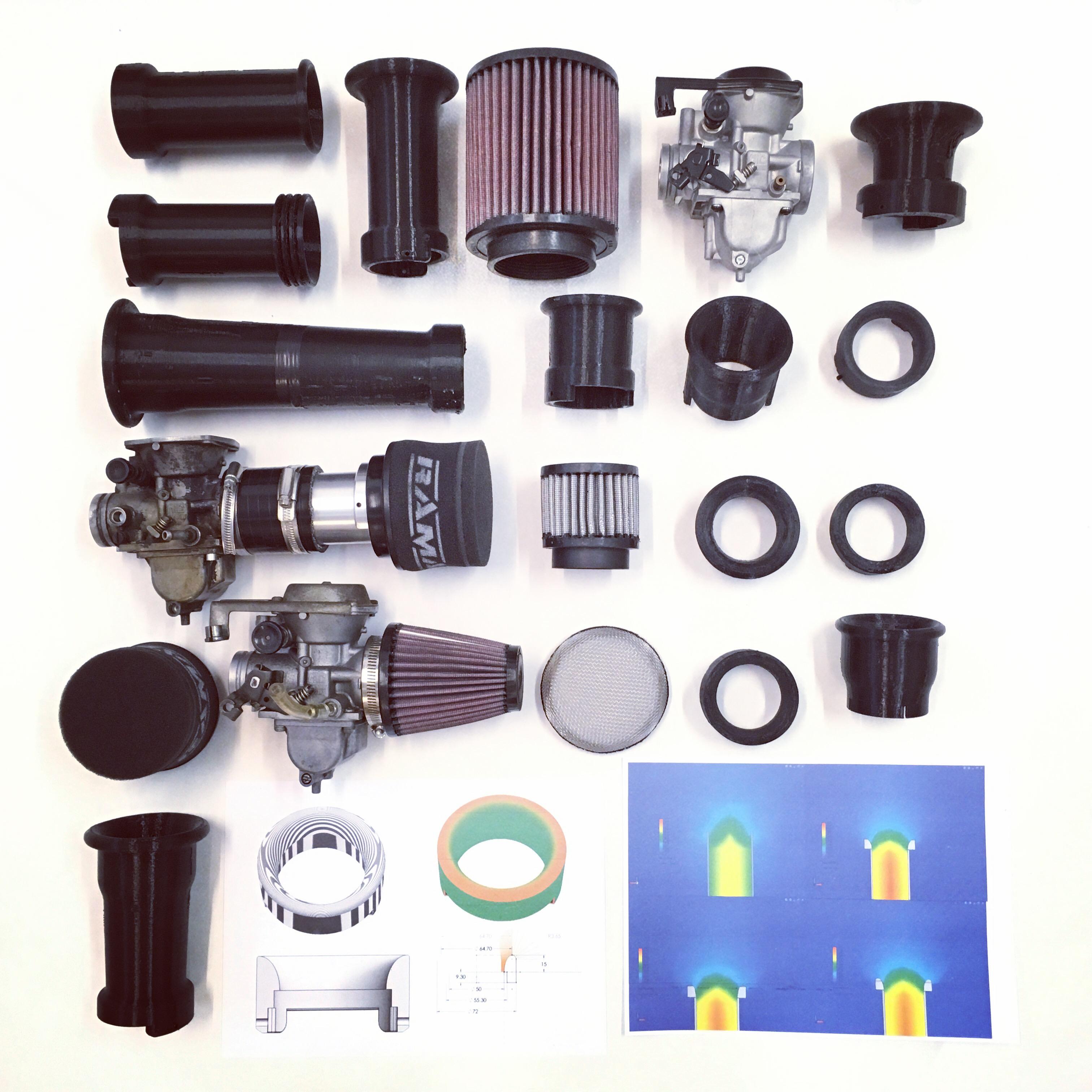 CV Carb Intake Design