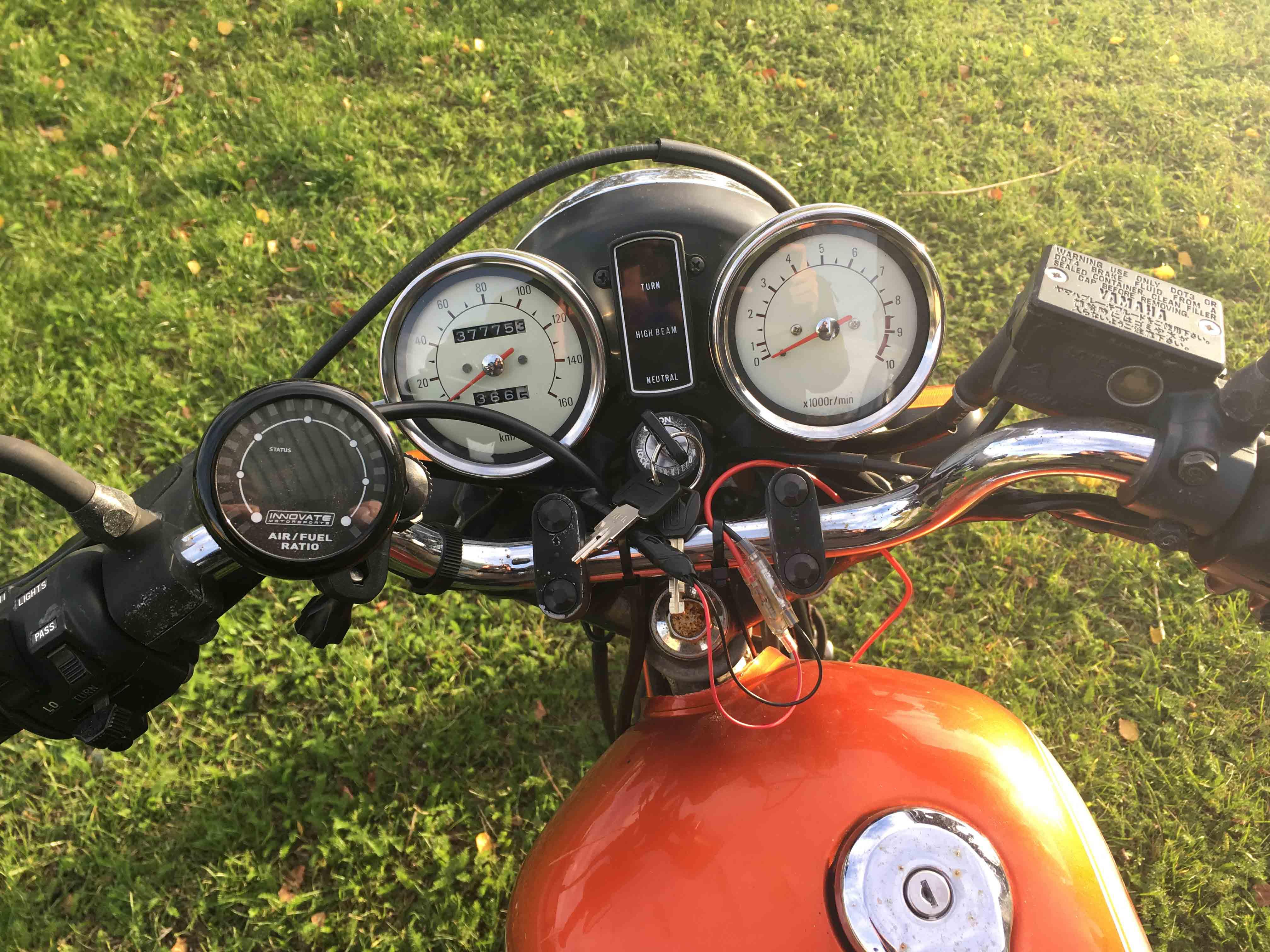 SR250 Air/Fuel Meter