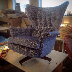Stunning G Plan swivel rocker chair