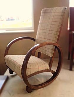 Custom design antique rocking chair