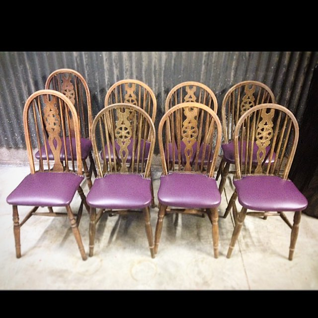 Chairs for The Crown in Hay-on-Wye