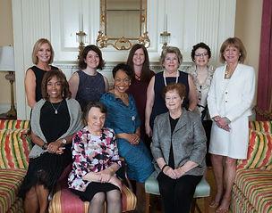 Rose Award Gala Committee (from left) Cathy Cooke, Natasha Busam, Brittany Kilgour, Sara Breiel, Rachel Lyon, Annie Bennett, Verna Tuttle, Mary Schwaderer, Margo Spence and Mauren Heekin