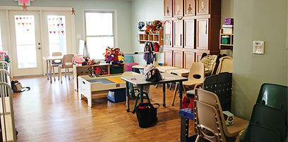 Childcare area at 2203 Fulton Ave.