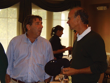 Mark Schoeny and Ken Schon at First Step Home's 2011 Golf Outing