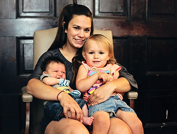 First Step Home Client and her children
