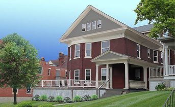 The Terry Schoenling Home for Mothers and Infants is designed with eight bedrooms, common kitchen facilities and living areas to encourage community activity. This new facility allows recovering mothers to adjust to their new lives in a sober, safe environment while bonding with their newborn babies.