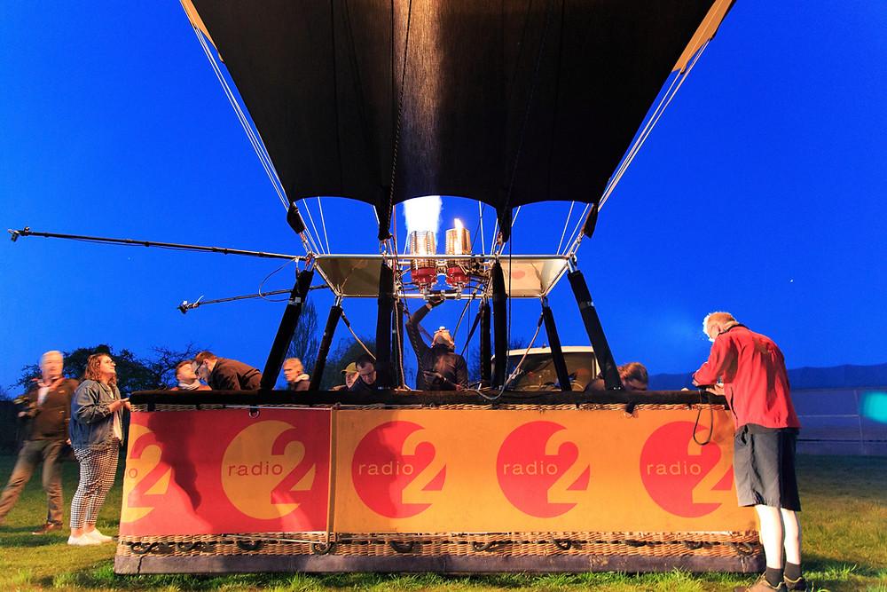 Radio 2 Start Je Dag in een luchtballon with On-Hertz