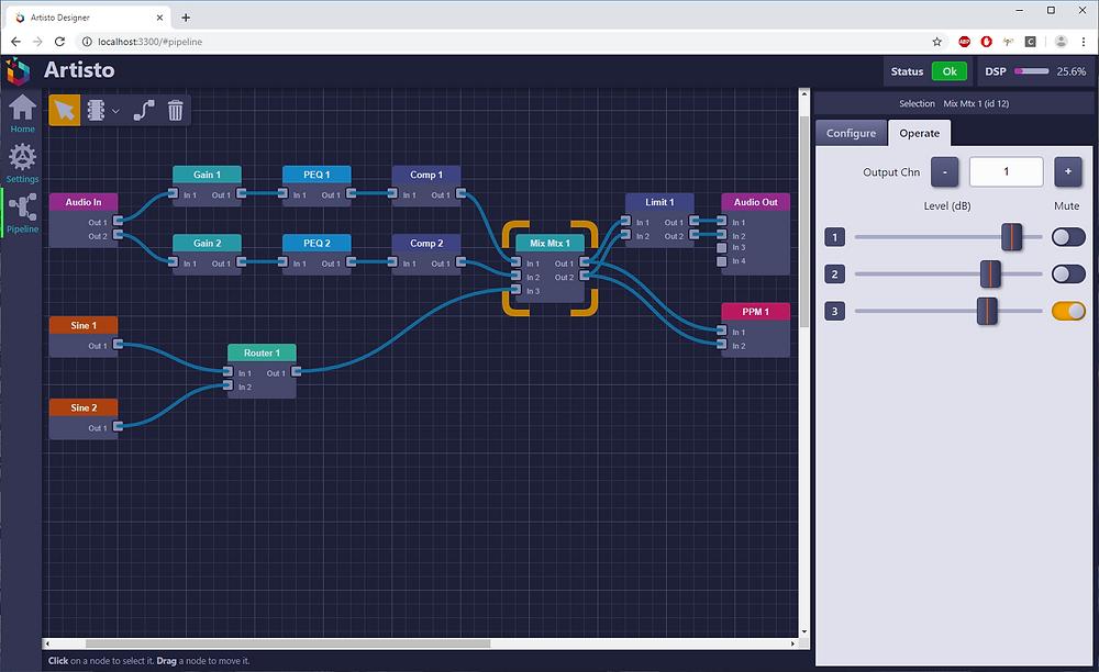 On-Hertz - Artisto - User Interface