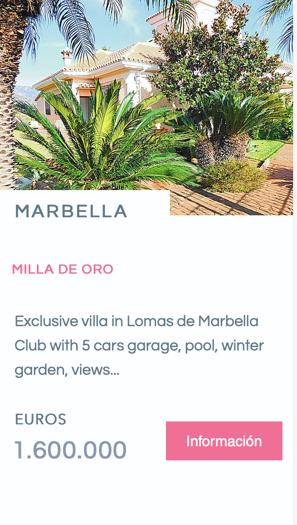 Villa Nueva Andalucia Marbella