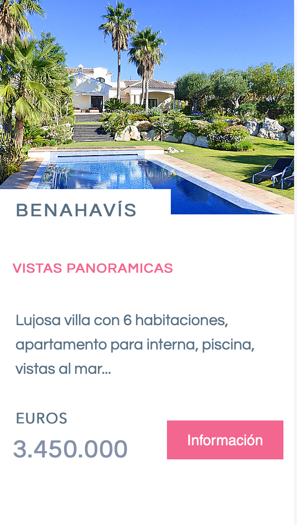 Luxury Villa for sale - Benahavís
