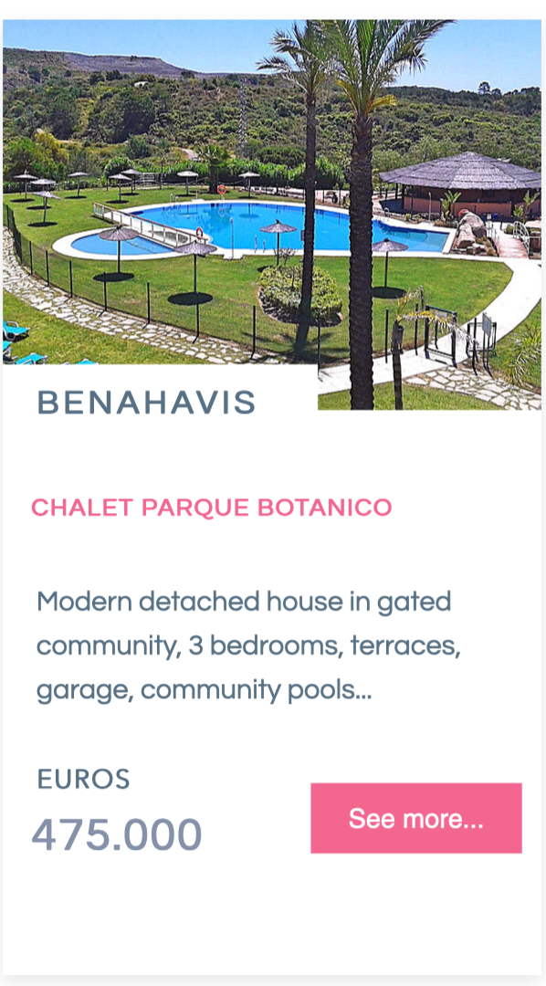 Chalet Villa for sale - Parque Botanico