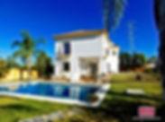 Chalet Detaced villa wit pool for sale Marbella San Pedro de Alcantara