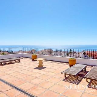 Panorama terrace with breathtaking SEA VIEWS