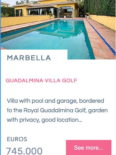 Villa Chalet Guadalmina Alta - Marbella