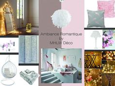 Planche d'ambiance Romantique By MHLW Déco