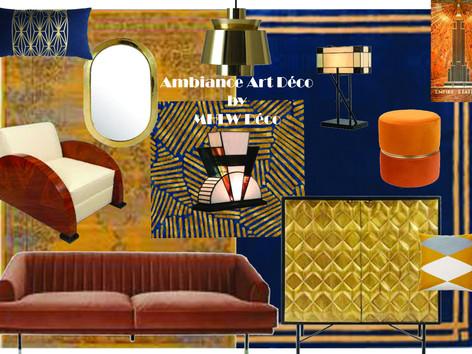 Planche d'ambiance Art Déco By MHLW Déco 2