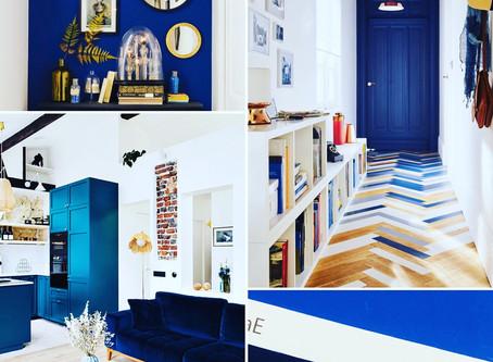 Le bleu, la couleur de l'année!