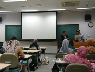 10月10日東北大学においてインドネシア政府教育文化省人事部の日本訪問団の方々に「日本の人事制度」について講義をさせて頂きました。