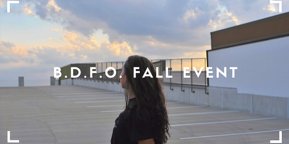 B.D.F.O. Fall Event