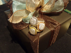 """CASSIS® """"Stackable"""" rings"""