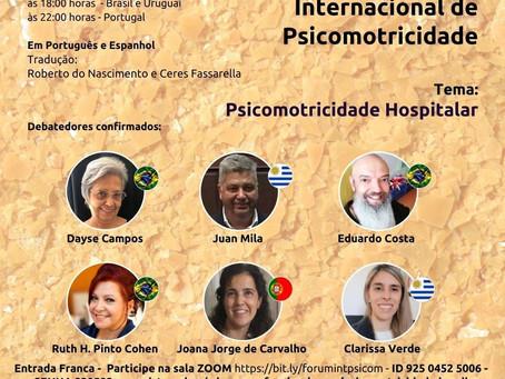 Não perca o 18º Encontro do Fórum Internacional de Psicomotricidade