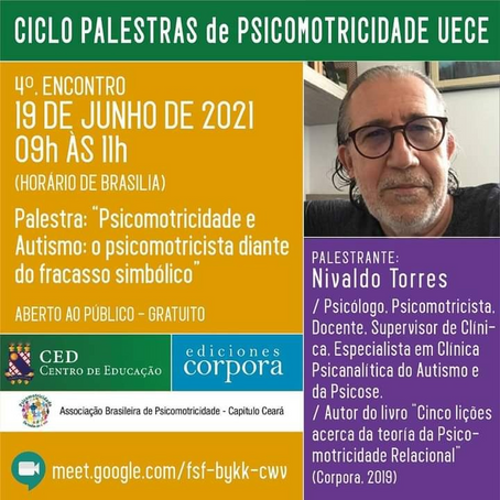 Ciclo de palestras da UECE: 4º Encontro terá Nivaldo Torres