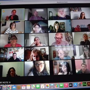 Dayse Campos Sousa compartilha experiências na II Jornada de Terapia de Psicomotora do Campo Adulto