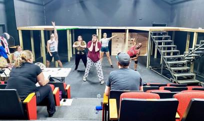 Choreography Rehearsal!