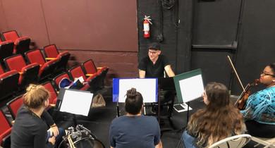 Orchestra reheasals
