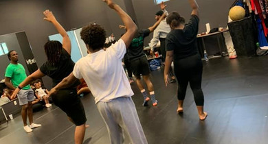 Choreography with Dewitt
