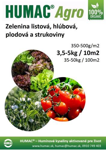 Zelenina listová, hlúbová, plodová a strukoviny