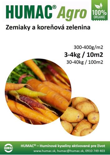 Zemiaky a koreňová zelenina