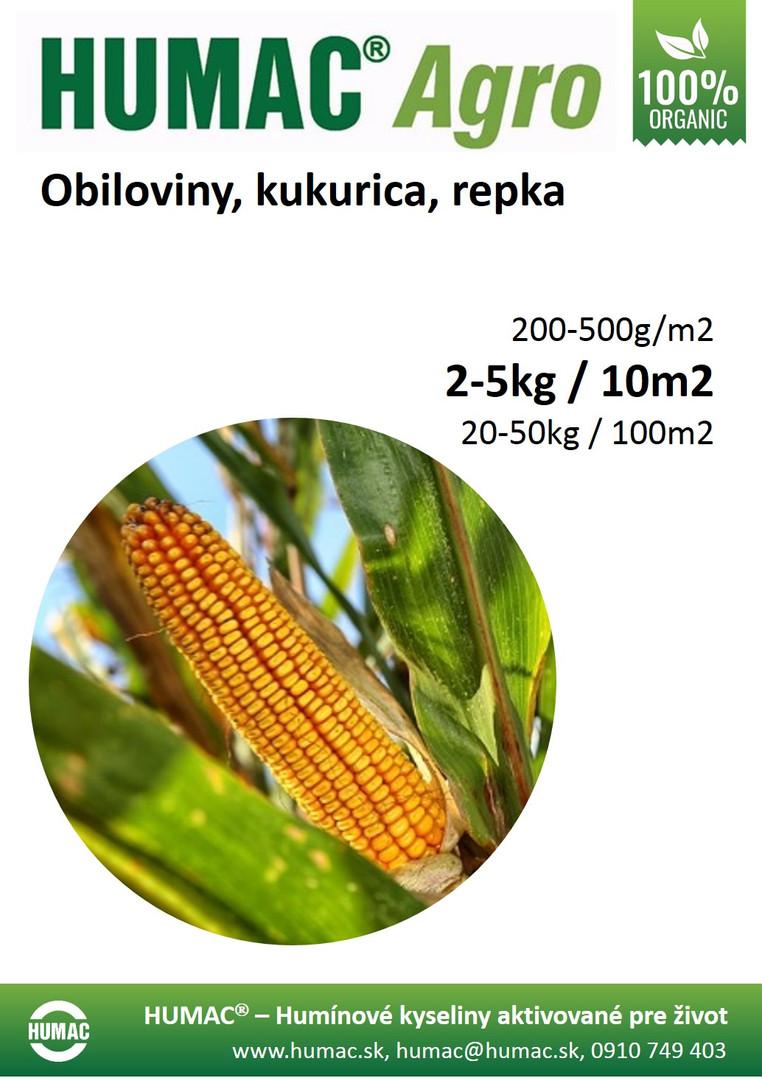 Obiloviny, kukurica, repka