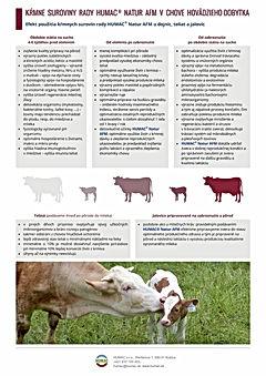 HUMAC v chove dobytka