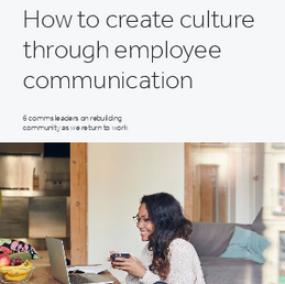 How to create culture through employee communication