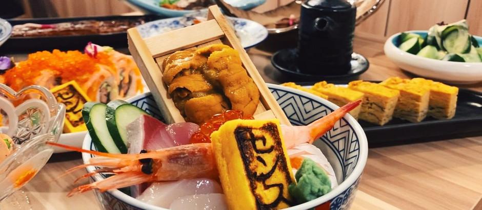 AFFORDABLE and INDULGENT Chirashi Don at SENS Sushi & Grill in Holland Village!