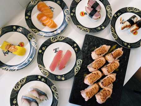 Affordable Japanese Dining in Singapore at One Sushi - $1 Sushi Plates!
