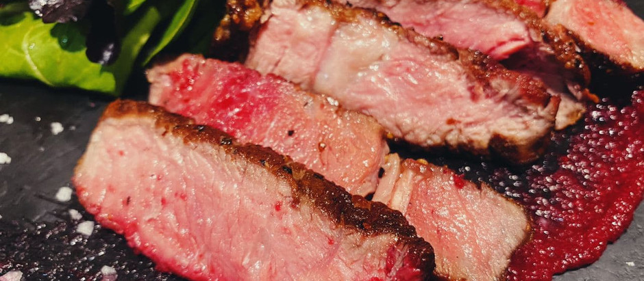 $20 Hanger Steak and A5 Japanese Wagyu at Steakville