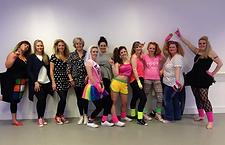 80's Dancers Hen Party Neon Funky Dance Class Fancy Dress