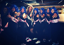 Katy Perry Dance Class Liverpool Hen Do Girls Party Wigs